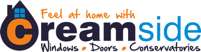 Creamside Windows, Doors and Conservatories Logo