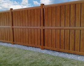 PVCu Semi Privacy Fencing from Creamside